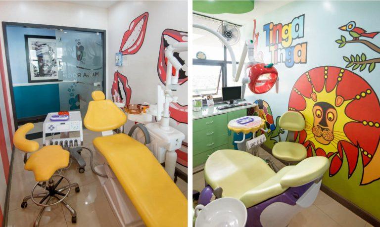 Unique Dental Decor at Dental Smiles Clinic